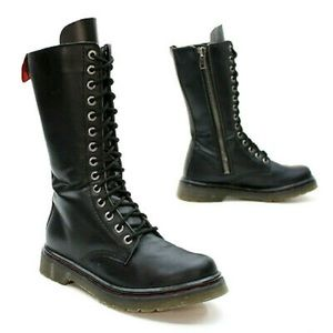 Demonia Rival Mid-calf Combat Boot Size 11